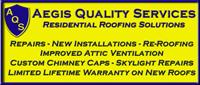 Website for Aegis Quality Services