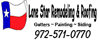 Website for Lone Star Remodeling & Roofing