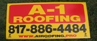 Website for A-1 Roofing, Inc.