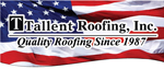 Website for Tallent Roofing, Inc.