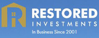 Website for Restored Investments, LLC