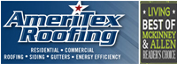 Website for Ameritex Roofing