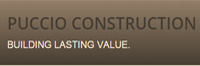 Website for Puccio Construction