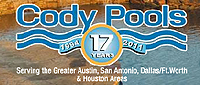 Website for Cody Pools Inc