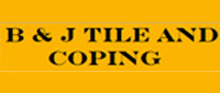 Website for B & J Tile & Coping, Inc.