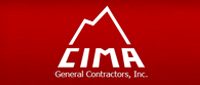 Website for CIMA General Contractors, Inc.