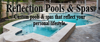 Website for Reflection Pools and Spas