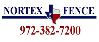 Website for Nortex Fence & Patio Co.