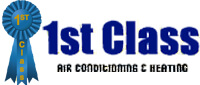 Website for 1st Class Heat & Air, Inc.