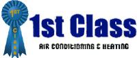 Website for 1st Class Heat & Air, Inc.