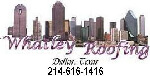 Website for Whatley Roofing