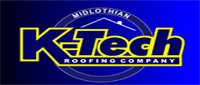 Website for K-Tech Roofing Company