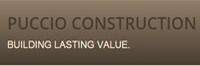 Website for Puccio Construction