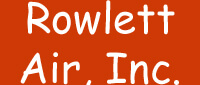 Website for Rowlett Air, Inc.