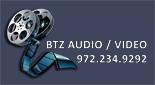 Website for BTZ Audio Video, LLC