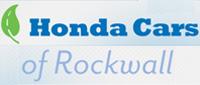 Website for Honda Cars of Rockwall