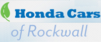 Website for Honda Cars of Rockwall