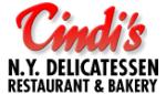 Website for Cindi's N.Y. Deli, Restaurant & Bakery