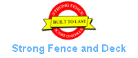 Website for Strong Fence And Deck