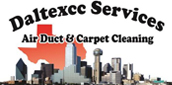 Website for Daltexcc Services Air Duct & Carpet Cleaning