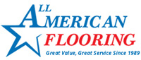 Website for All American Flooring