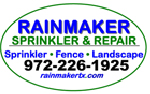 Website for Rainmaker Sprinkler & Repair