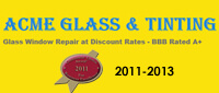 Website for Acme Glass & Tinting