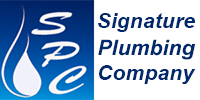 Website for Signature Plumbing Company