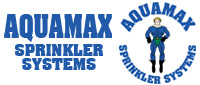 Website for Aquamax Sprinkler Systems
