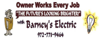 Website for Barney's Electric