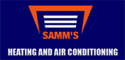 Website for Samm's Heating and Air Conditioning