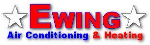 Website for Ewing Air Conditioning & Heating, LLC