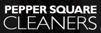 Website for Pepper Square Cleaners