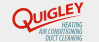 Website for Quigley Heating & Air Conditioning Co. of Dallas