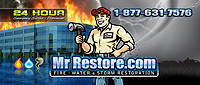 Website for Mr. Restore