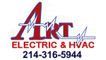 Website for Art Electric & HVAC, Inc.