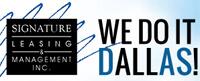 Website for Signature Leasing & Management Inc.