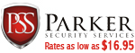 Website for Parker Security Services