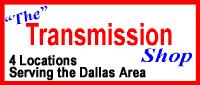 Website for The Transmission Shop