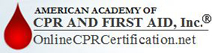 Website for American Academy of CPR & First Aid, Inc.
