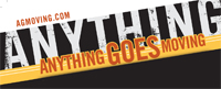 Website for Anything Goes Moving Company