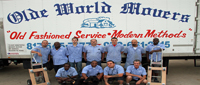 Website for Olde World Movers