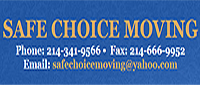 Website for Safe Choice Moving