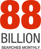 88 Billion Searches Monthly