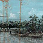 Bonnet Carre Spillway Painting - Darin Joseph Acosta