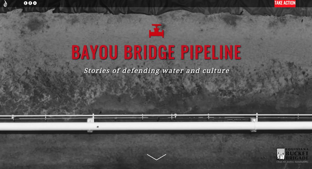 Louisiana Bayou Bridge - Darin Acosta