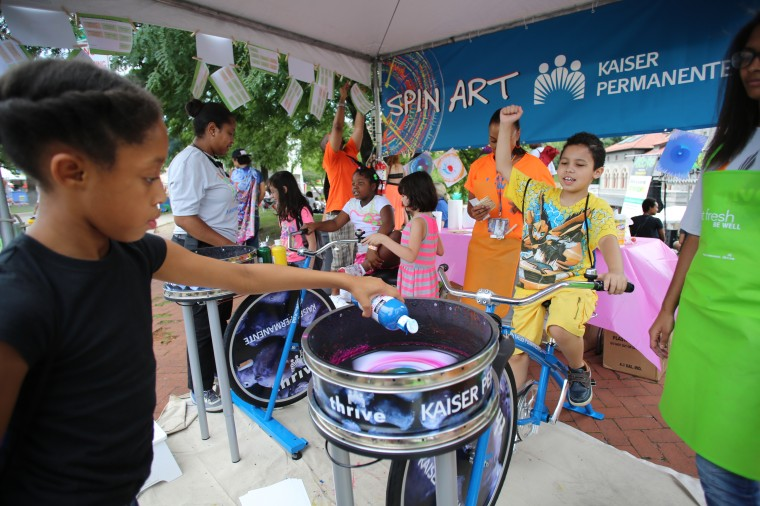 Scenes from Artscape in Baltimore. The free arts festival runs through Sunday, July 20. (Al Drago/Baltimore Sun)