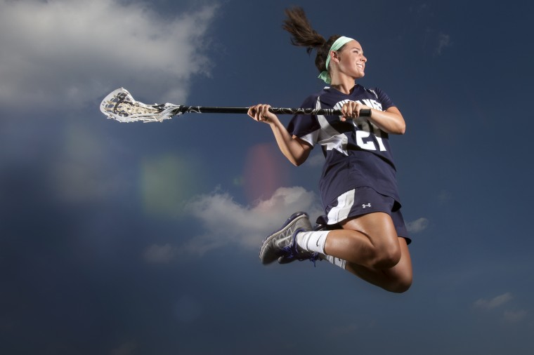 Taylor Hensh, Marriotts Ridge lacrosse, June 2014