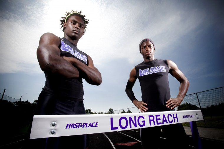 Robert Carter, Tosin Oyewole, Long Reach track, July 2014