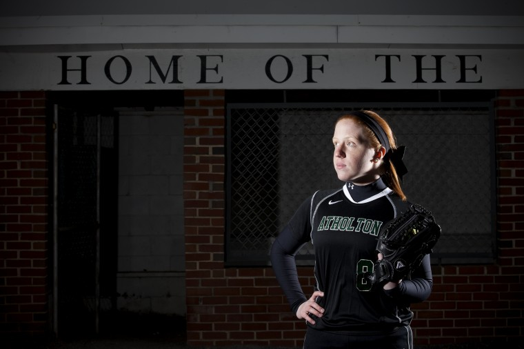 Alex Herschman, Atholton softball, March 2014